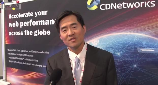 Mobile World Congress 2013, John J. Kang, Vice President, CDNetworks