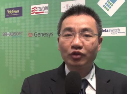 Mobile World Congress 2013, Stone Lu, Vice President, Yealink