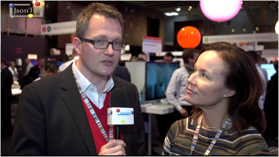 Mobile World Congress 2014, Cecilia De Leeuw, Ericsson & Christoph Herzig, Philips Lighting