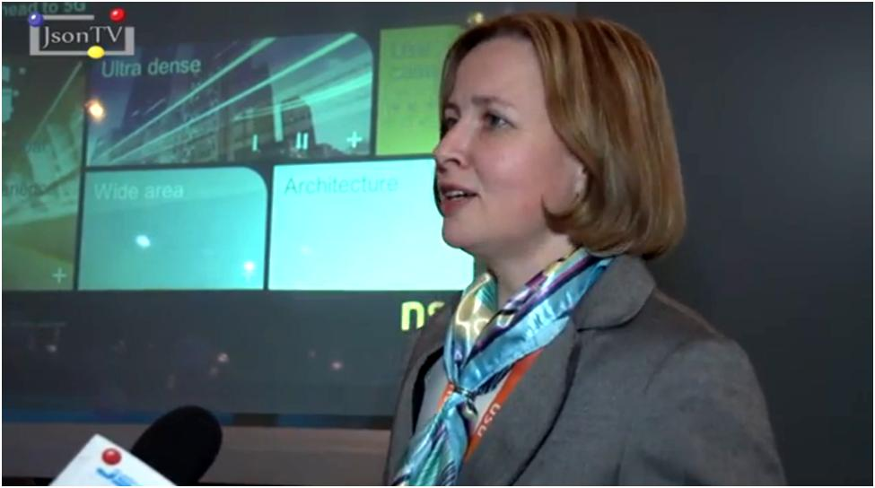 MWC 2014, Lidia Varukina, Nokia Solutions & Networks (NSN Russia). Part 2