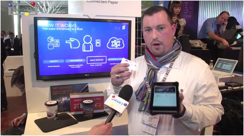 MWC 2014, Mark Merdy, Ericsson: Connected Paper