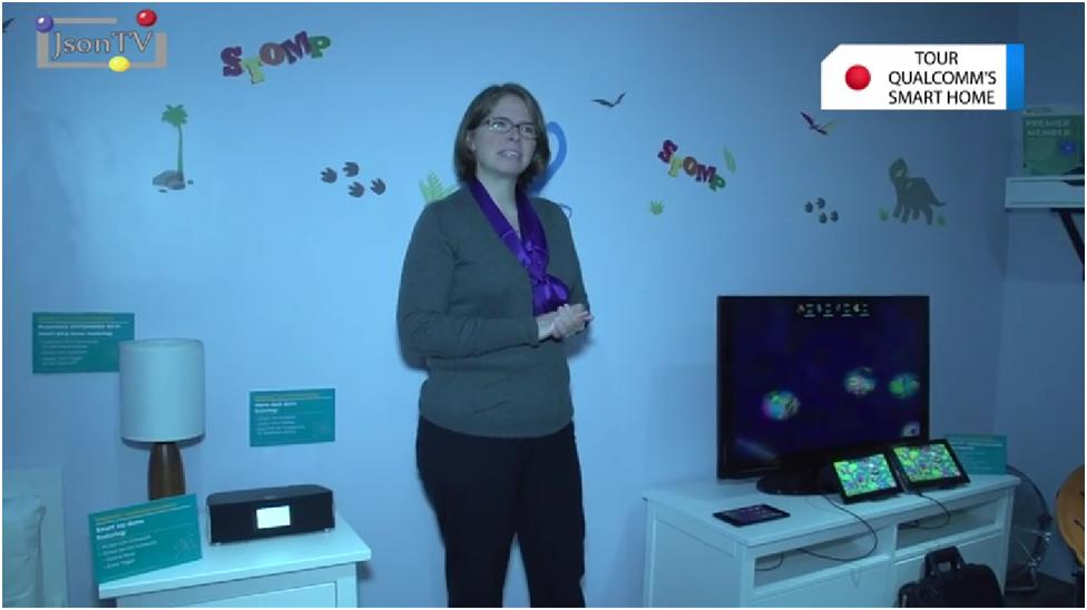 MWC 2014, Qualcomm, Smart Home: Kids Room