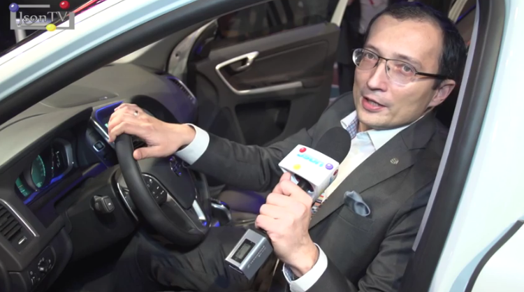 MWC 2014, Ruslan Nozdryakov, Ericsson NE&CA, Connected Car