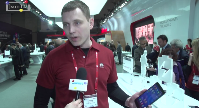 MWC 2014, Laimonas Petrushevichus, Huawei Devices