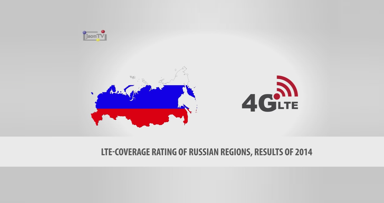LTE-Coverage Rating of Russian Regions, Results of 2014