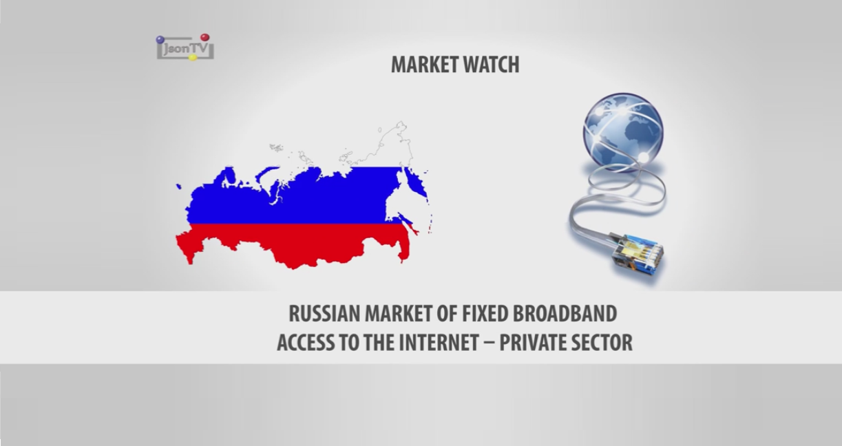 Russian Market of Fixed Broadband Access to the Internet – Private Sector