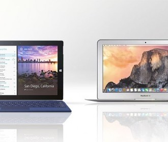 Microsoft Surface 3 против MacBook Air (2015)