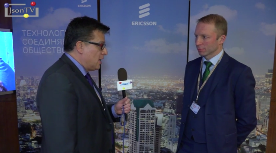 Vedomosti. Telecom-2015: Dmitry Maselsky, Ericsson Russia: an OTT-development in Russia from consumers and carriers' point of view against LTE background