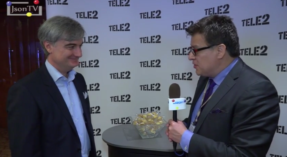 Vedomosti. Telecom-2015: Mamuka Markhulia, Tele2: interrelation between OTT services with the development of LTE-networks in Russia and prospects of such networks