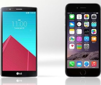 LG G4 против iPhone 6 Plus: Азия или США?