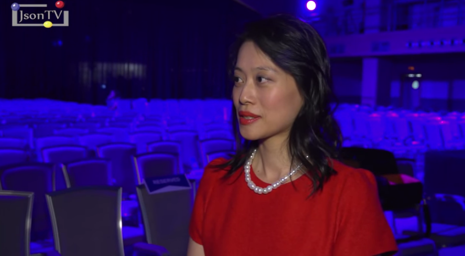 Angela Hsu, head of mobile systems business group, ASUS in Russia, CIS and Baltic countries