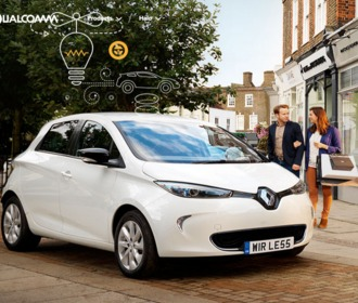 Qualcomm and BRUSA Sign  Commercial Wireless Electric Vehicle Charging License Agreement