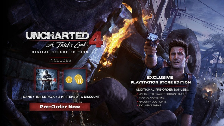 Uncharted 4 Digital Deluxe