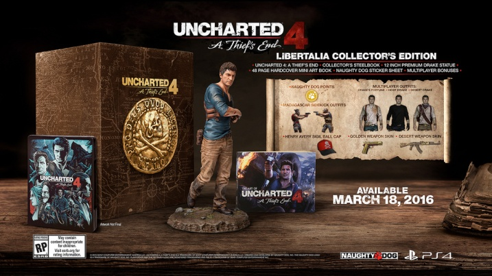 Uncharted 4 Libertalia Edition