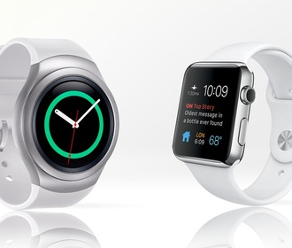 Samsung Gear S2 против Apple Watch