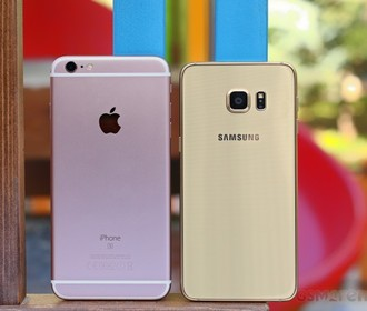 Apple iPhone 6s Plus против Samsung Galaxy S6 edge+