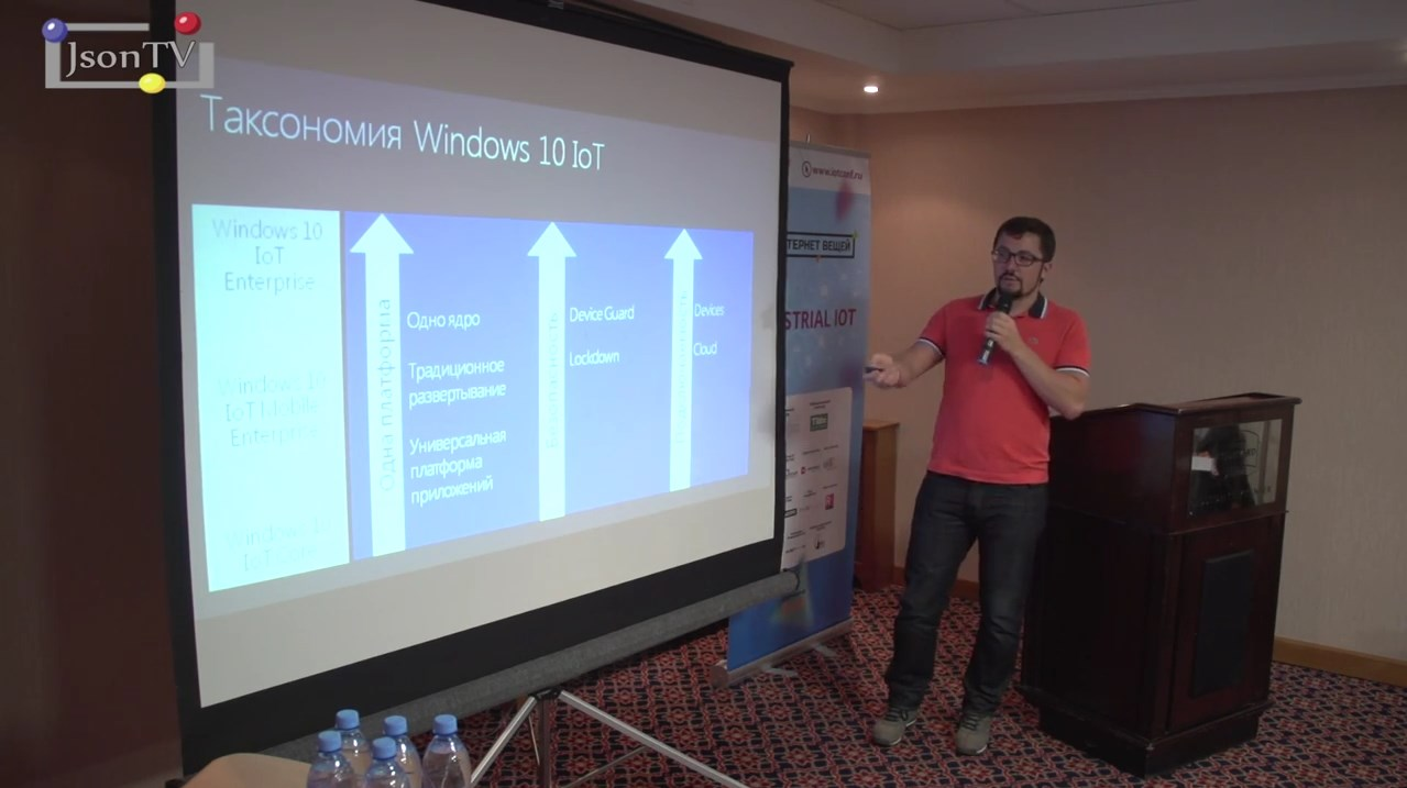 Smile-Expo. IoTConf. Александр Белоцерковский, Microsoft: о платформе Windows 10 IoT