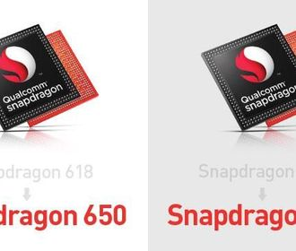 Процессоры Qualcomm Snapdragon 620 и 618 переименованы в 652 и 650
