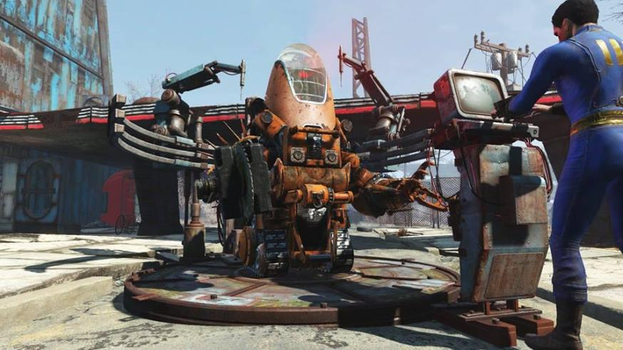 Fallout 4 скриншоты DLC 3
