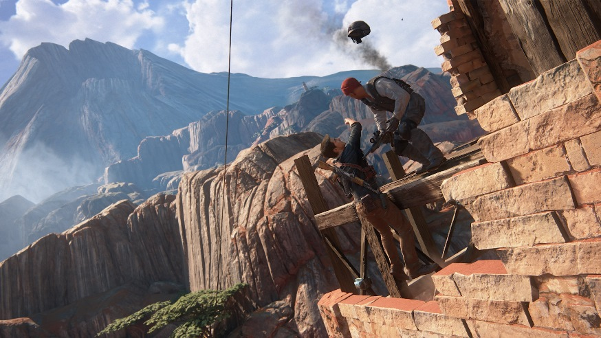 Uncharted 4 скриншоты 2