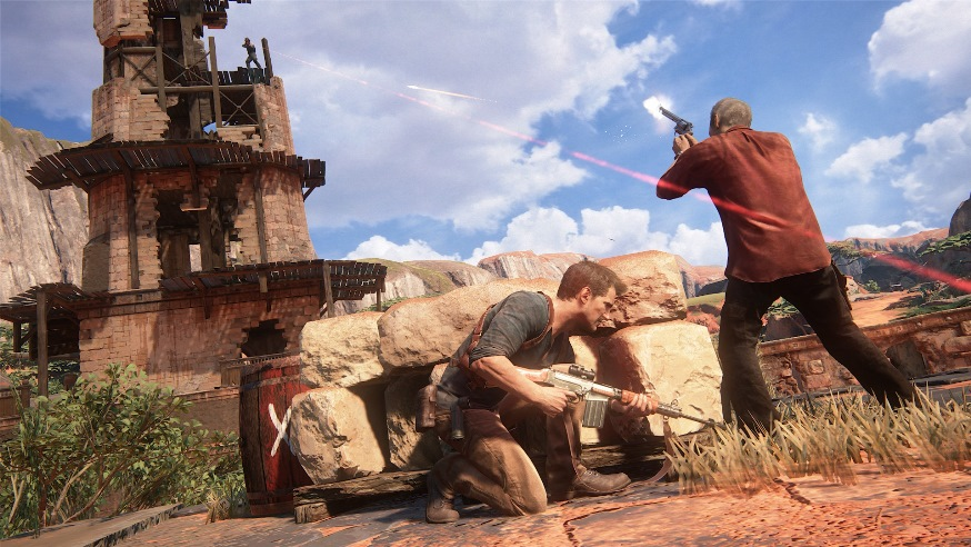 Uncharted 4 скриншоты 3