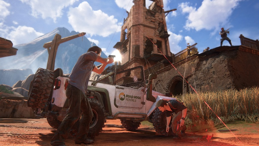 Uncharted 4 скриншоты 4