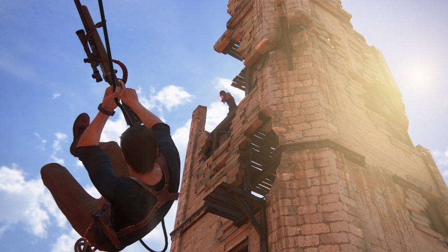 Uncharted 4 скриншоты 7