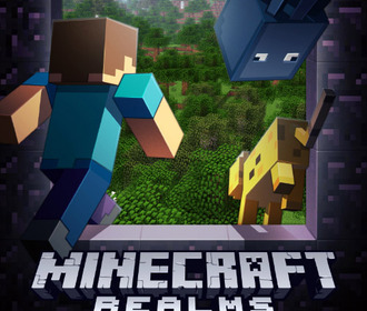 Minecraft Realms будет доступна для Minecraft Pocket Edition и Minecraft Windows 10 Edition