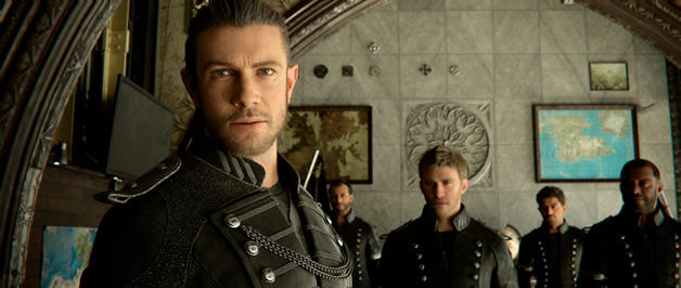 Kingsglaive: Final Fantasy XV скриншоты 10