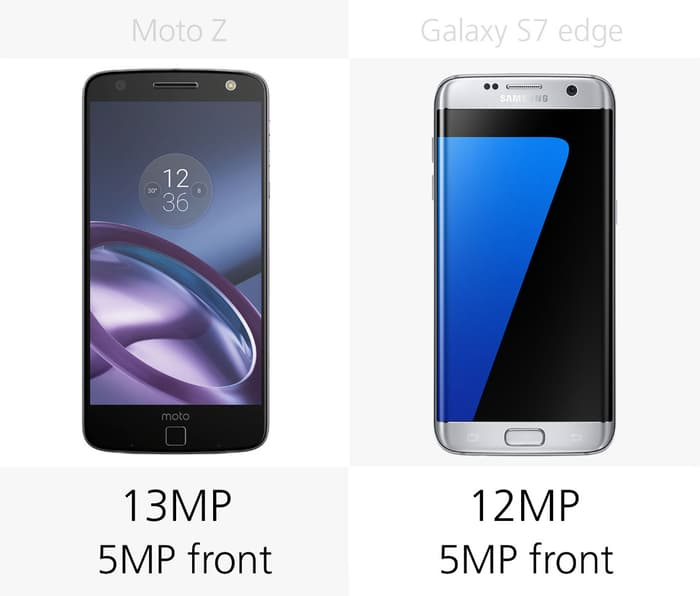 Moto Z против Samsung Galaxy S7 edge 3