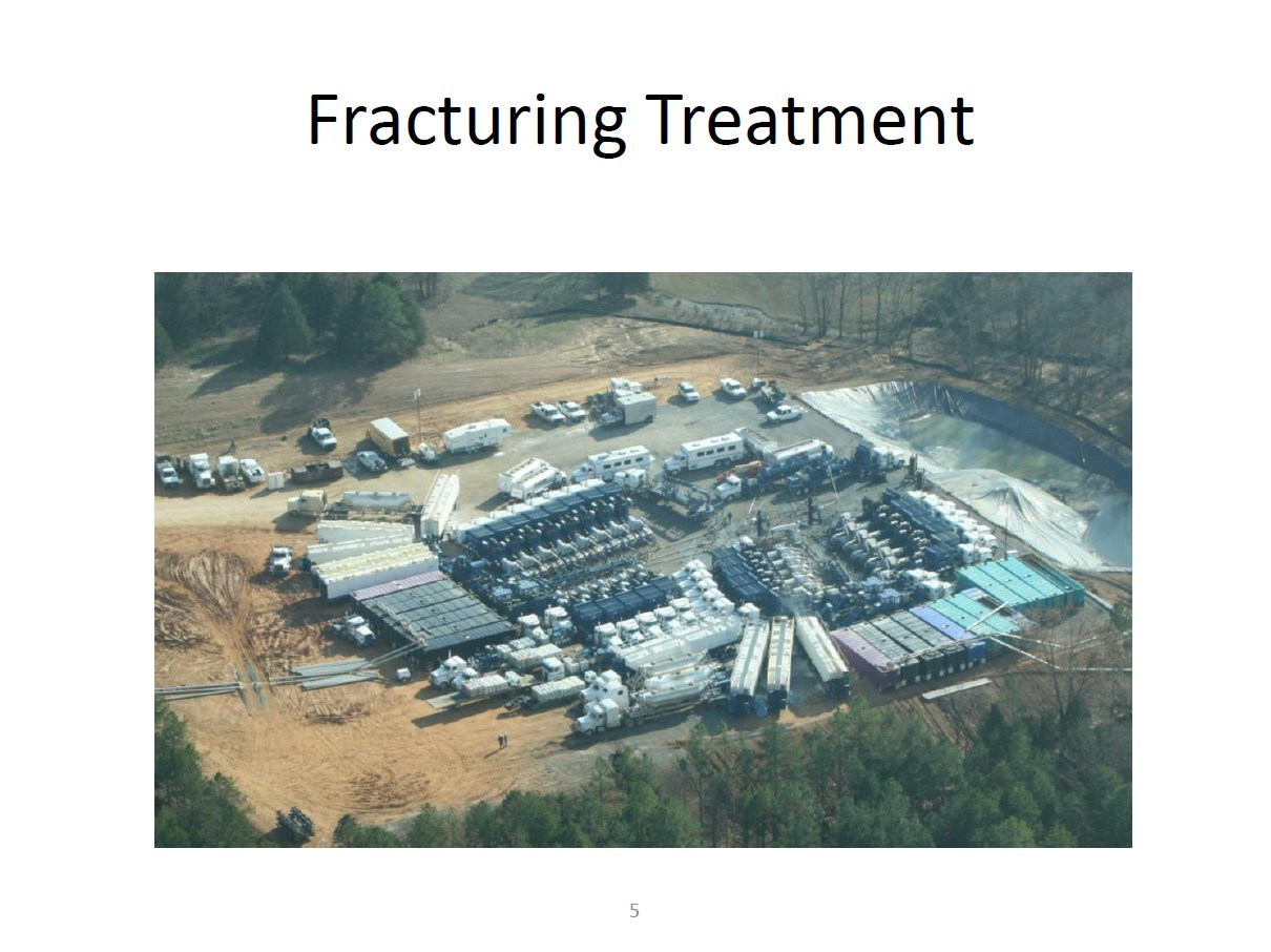 Baker Hughes Fracturing Treatment