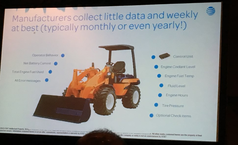 IoT World 2016 Manufacturer data collection
