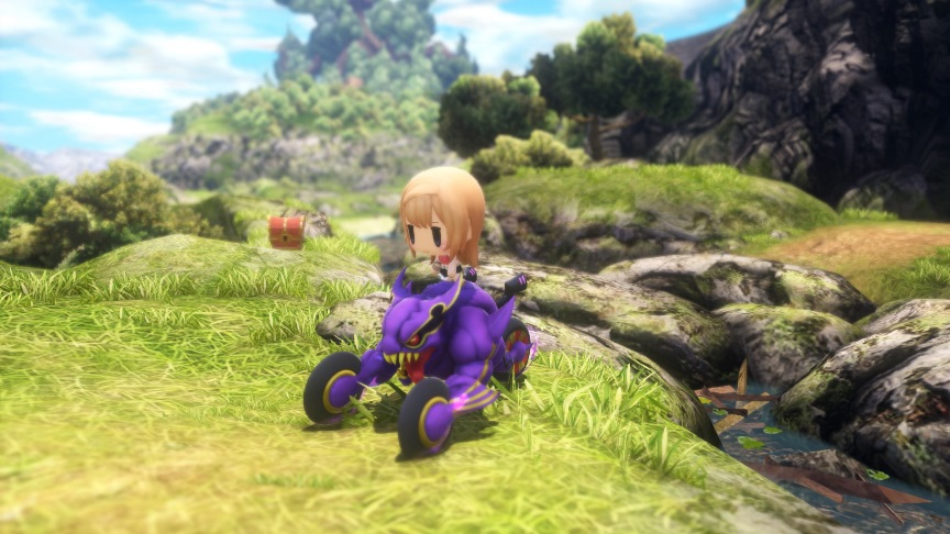 World of Final Fantasy скриншоты 3