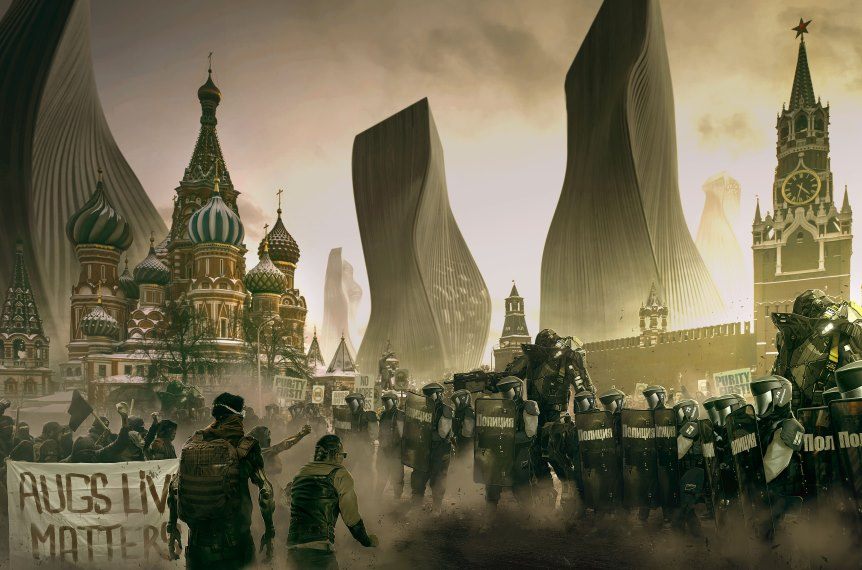 Deus Ex: Mankind Divided картинка 9