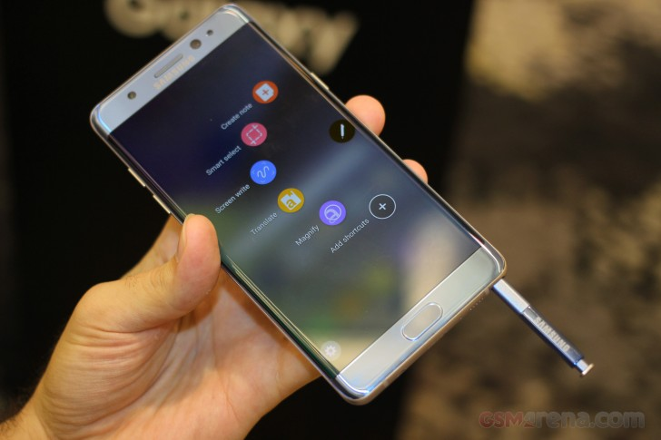 Samsung Galaxy Note7 обзор
