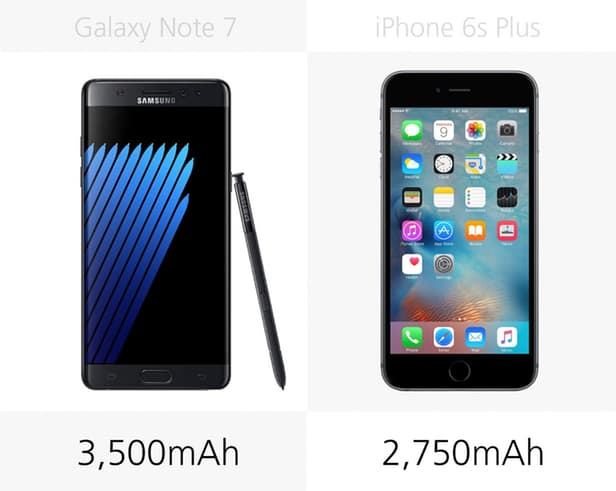 Samsung Galaxy Note 7 против iPhone 6s Plus: Android против iOS 5