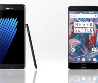 Samsung Galaxy Note 7 против OnePlus 3