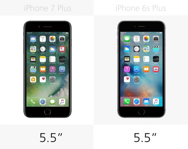 iPhone 7 Plus против iPhone 6s Plus