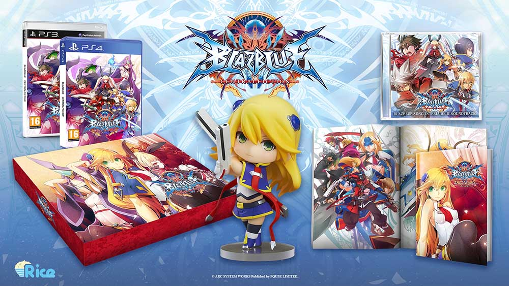 Файтинг BlazBlue: Central Fiction выйдет на PS3 и PS4 в начале ноября