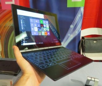 12-дюймовый Lenovo Yoga Book в пути: Android или Windows 10?