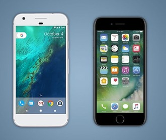 Google Pixel против iPhone 7: Android или iOS?