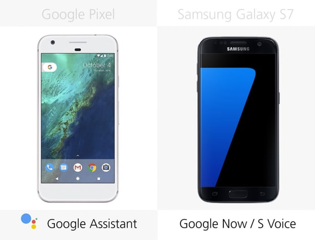 Google Pixel vs Samsung Galaxy S7: advanced  Android smartphones 9