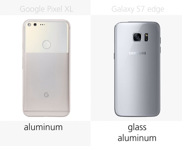 Google Pixel XL против Samsung Galaxy S7 edge