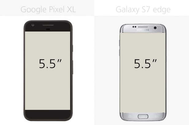 Google Pixel XL против Samsung Galaxy S7 edge: могучие Android 4