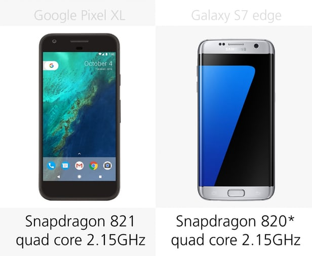 Google Pixel XL против Samsung Galaxy S7 edge: могучие Android 6