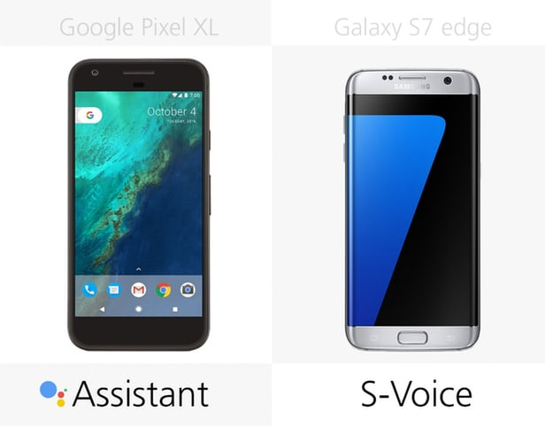 Google Pixel XL против Samsung Galaxy S7 edge: могучие Android 8