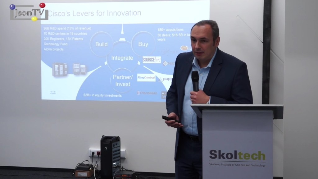 Cisco IoT Workshop in Skolkovo. Lev Levin, Cisco: How Russian startups could collaborate with Cisco upon Smart Cities development