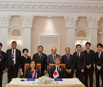 ITU Telecom World 2016. Daily 1 highlights. Japan and the Kingdom of Thailand sign memorandum of cooperation.