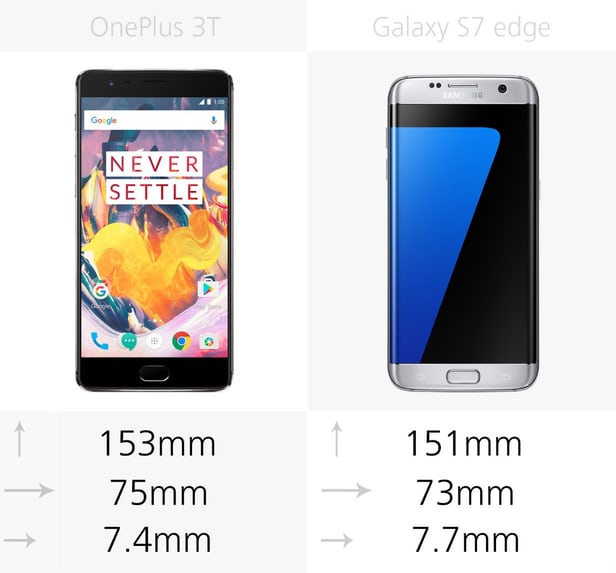 OnePlus 3T vs Samsung Galaxy S7 edge: Android Chinese or Korean 2