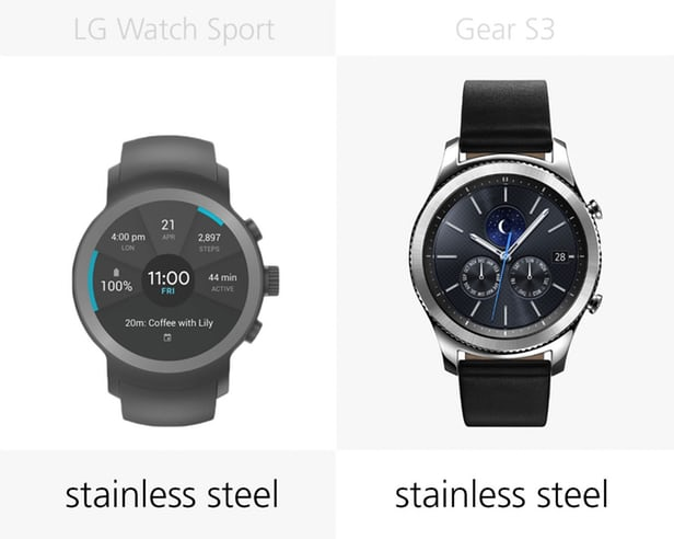 LG Watch Sport против Samsung Gear S3: Android Wear 2.0 3